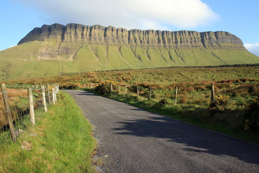 Benbulben mountain (County Sligo, Ireland)