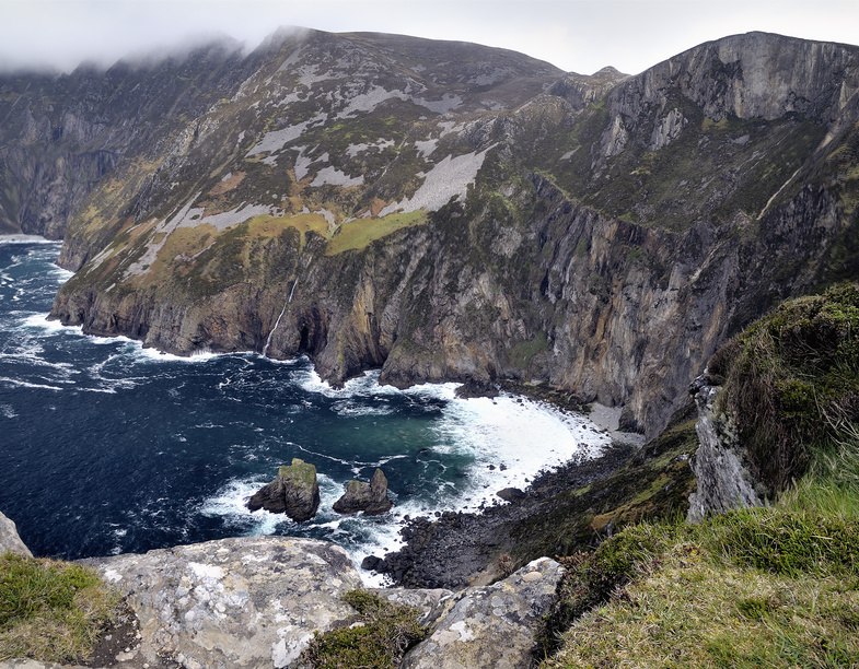 Cliffs of Slieve League in County Donegal, Ireland