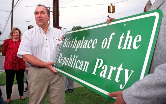 Throughout the 1990s, Republican Governor John Engler was a force without parallel in Michigan politics. | AP Photos