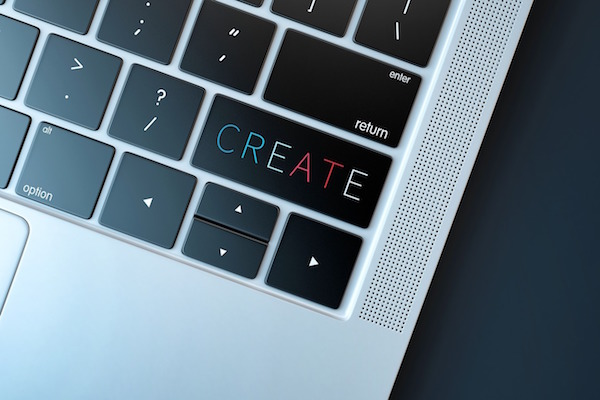 Press a create key?If only it was that easy!