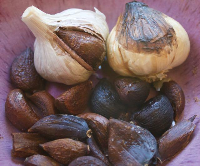 Dried Black Garlic