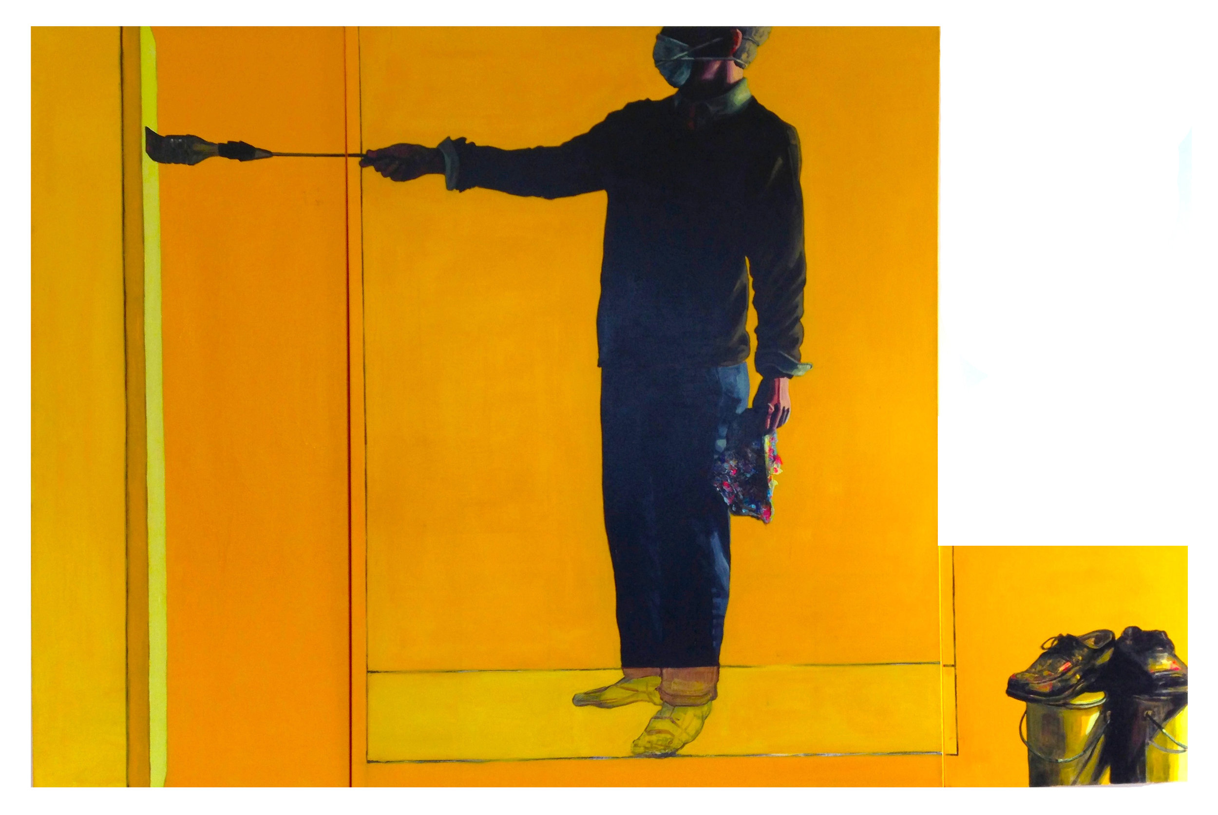 """Nacho Butter  (three panels) 