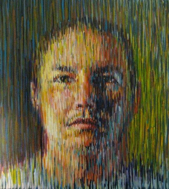 "Blake  | acrylic on canvas | 24"" x 18"" | (SOLD)"