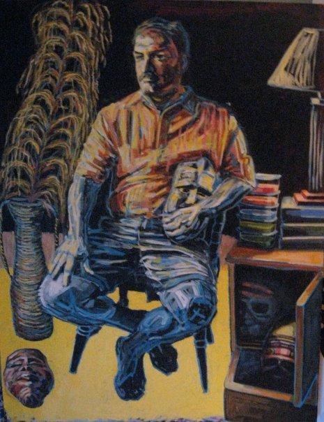 "Untitled  | acrylic on canvas | 52"" x 42"""