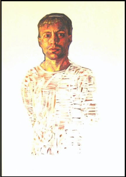 "Untitled  | acrylic on canvas | 36"" x 24"""
