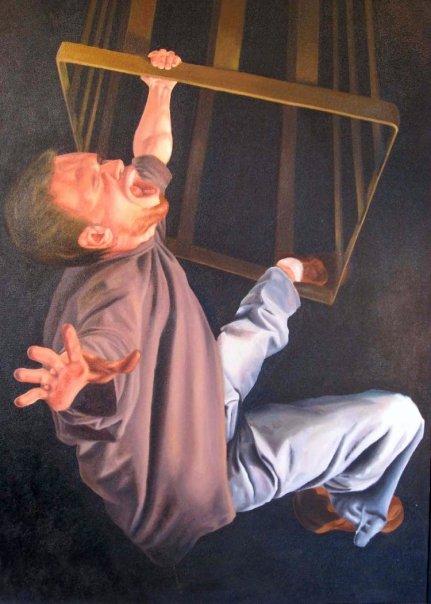 "Luke  | oil on canvas | 36"" x 24"" | (SOLD)"