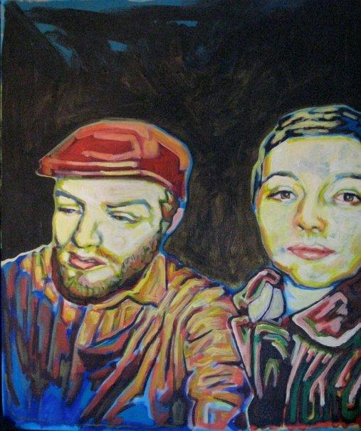 "Untitled  | acrylic on canvas | 24"" x 18"""