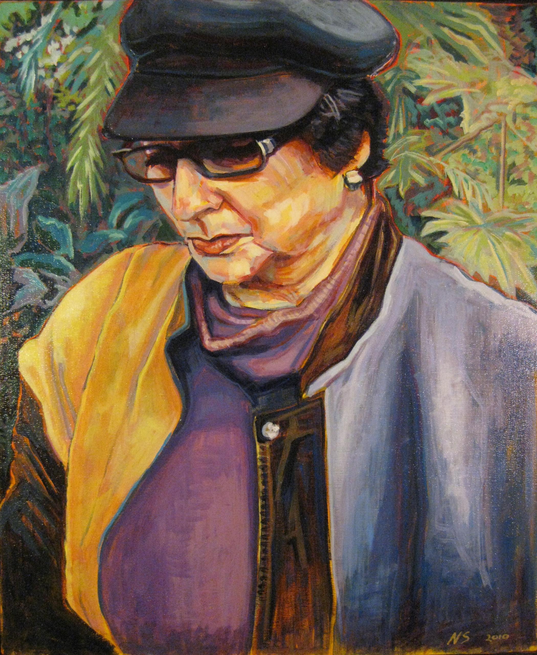 "Martha  | acrylic on canvas | 32"" x 24"""