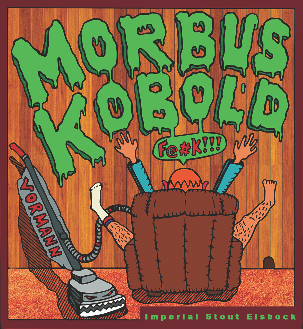 Morbus Kobold Beer Label  | Freigeist Brewery | Stolberg, Germany | 2019