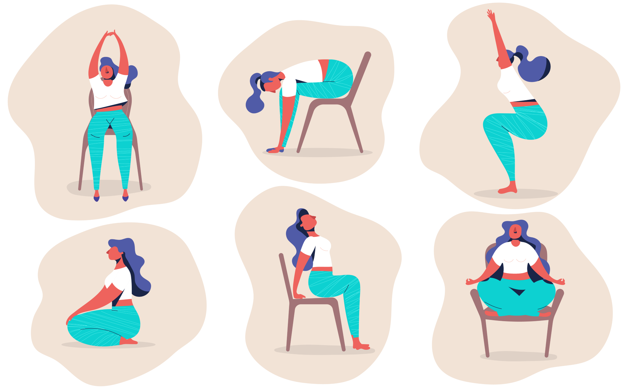 Yoga for your work day!