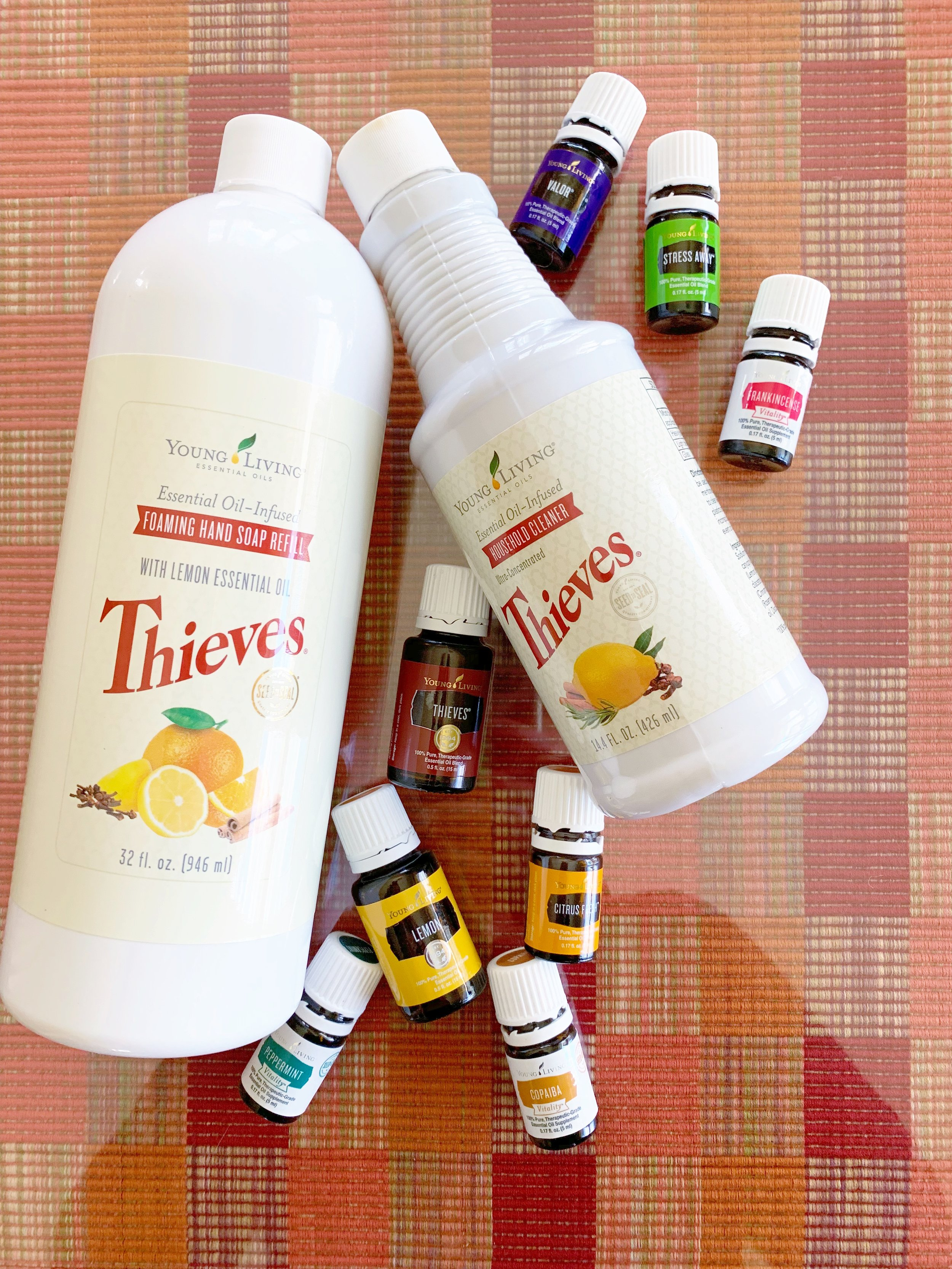 A few of our favorite Young Living products!