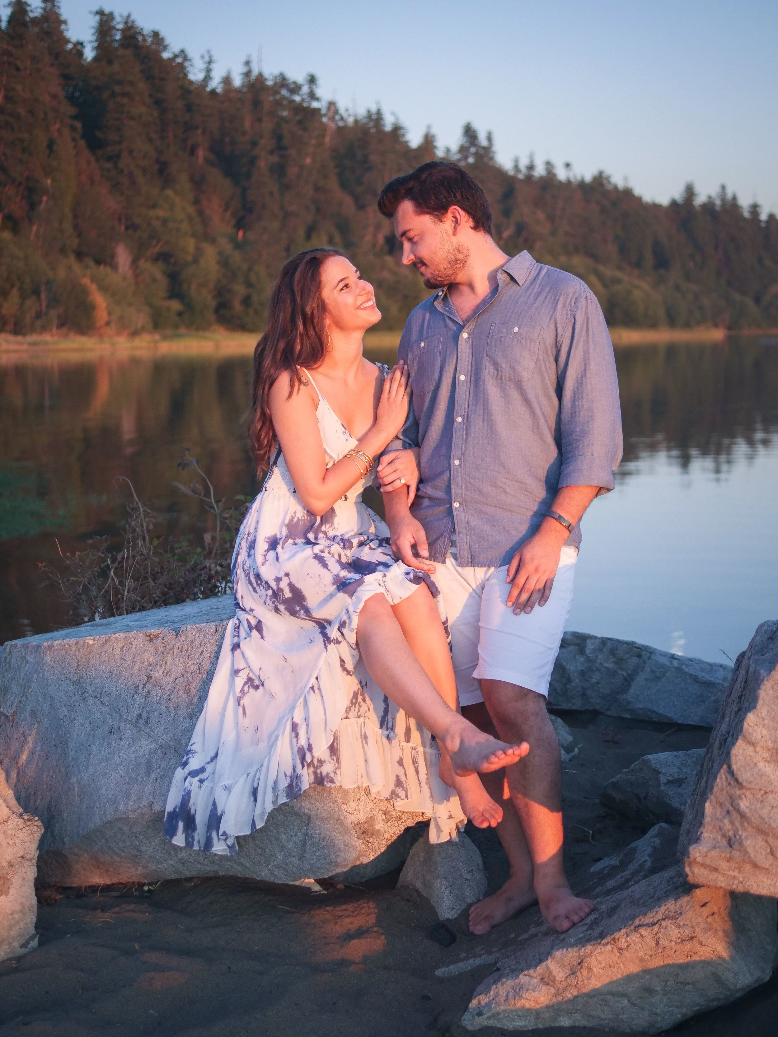 Summer Engagement Photography