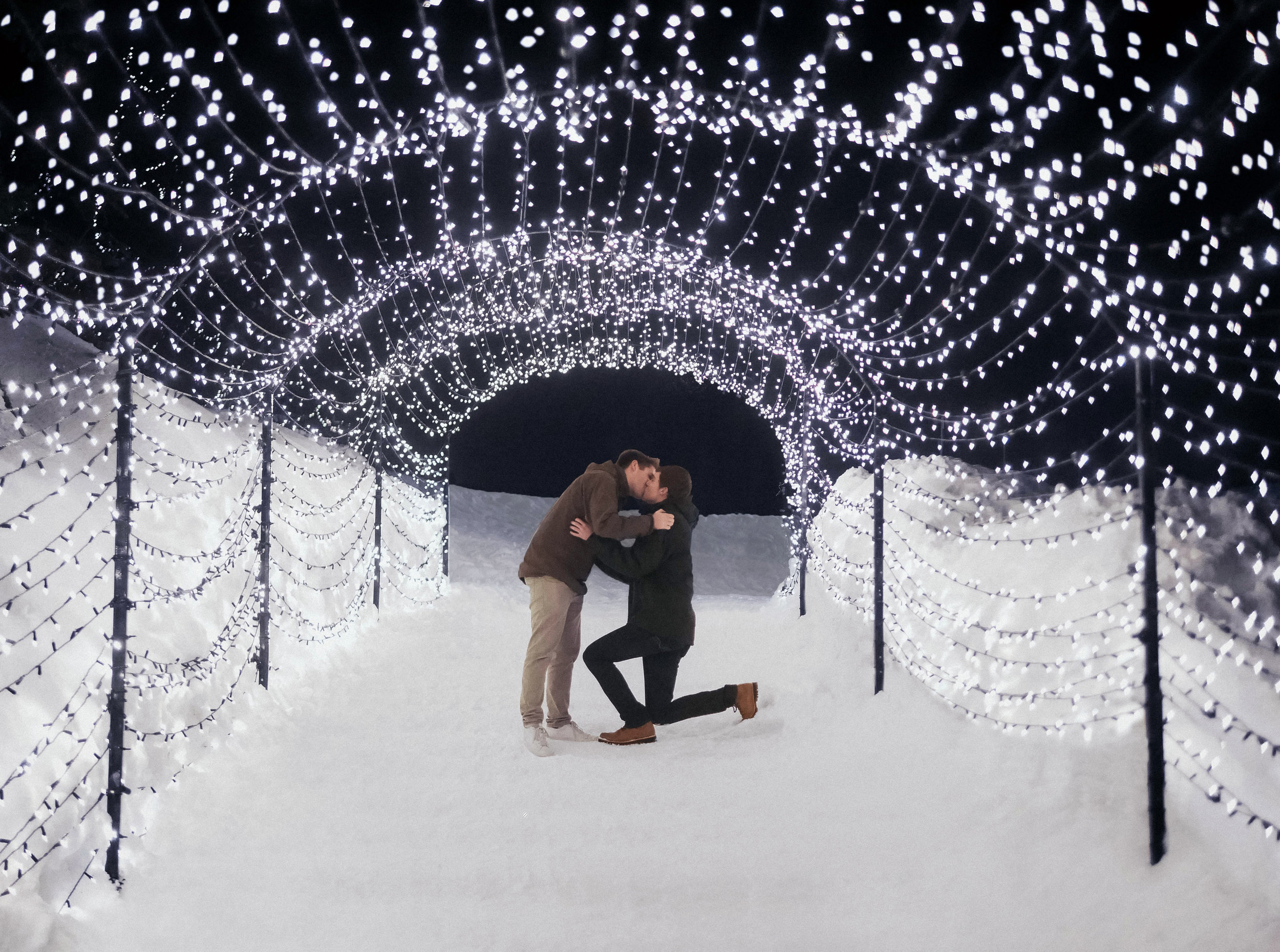 My Proposal - Grouse Mountain     Proposal Photography