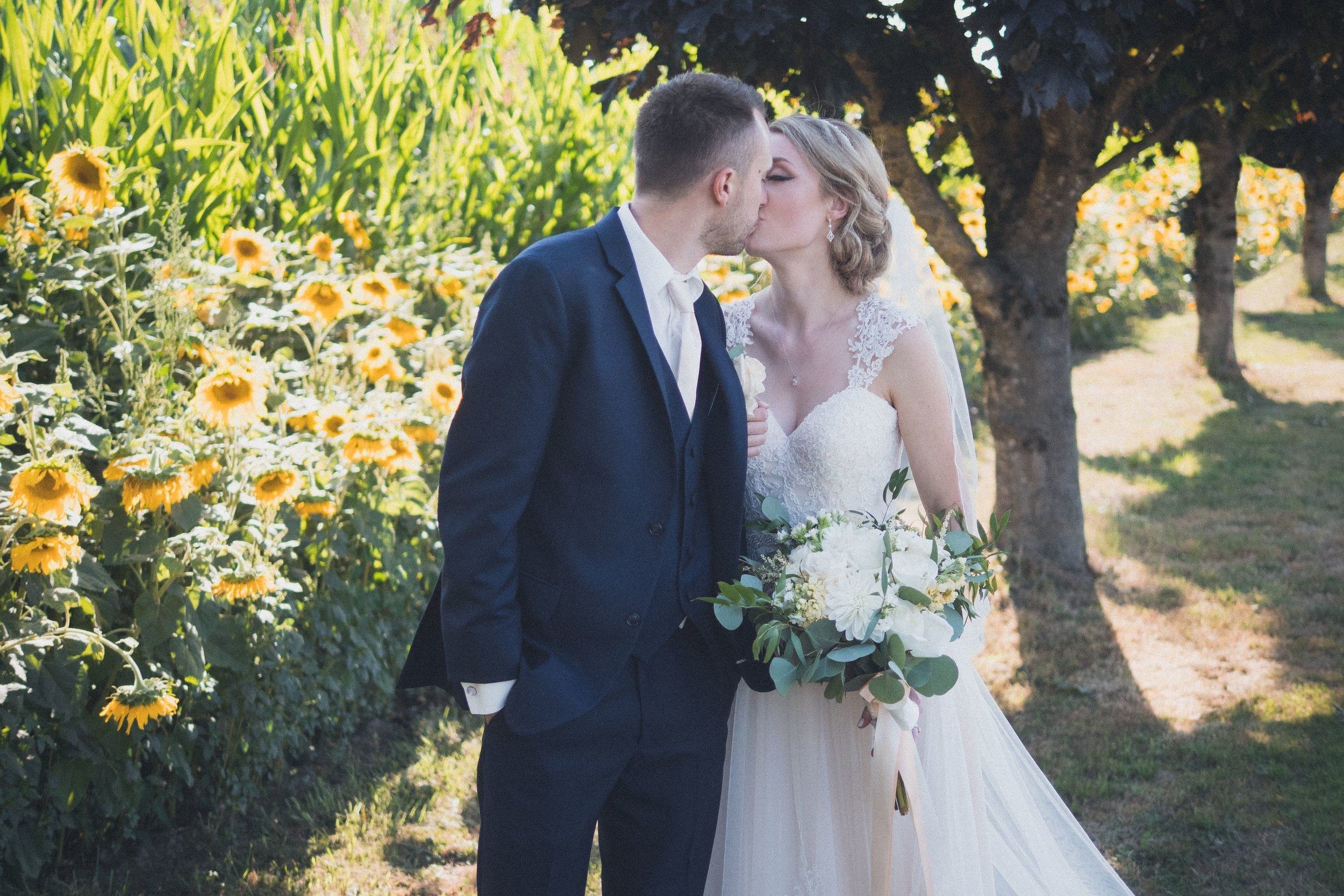 Victoria and Carson - Old Clayburn    Wedding Photography