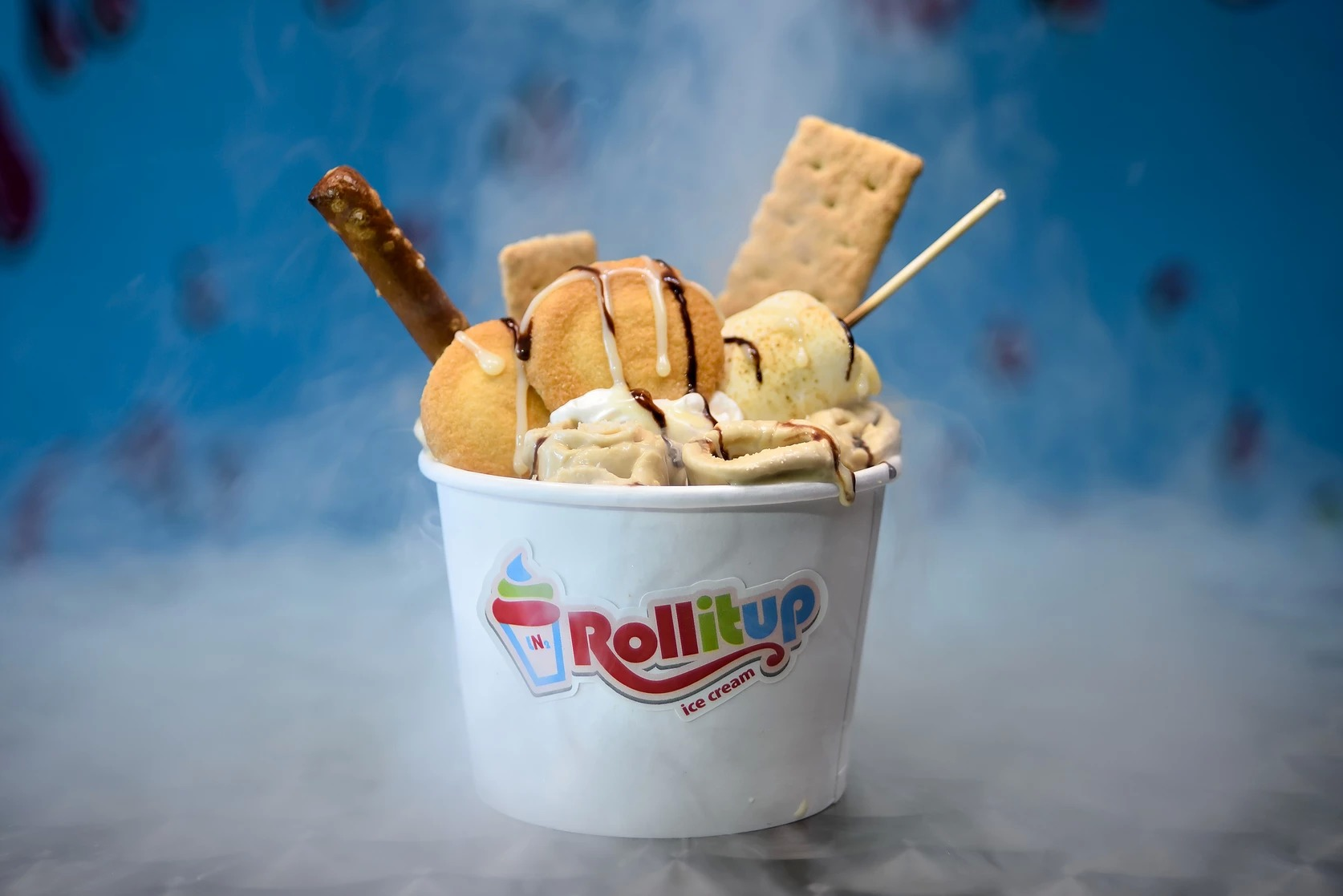 Roll It Up Ice Cream Custom Rolled Ice Cream