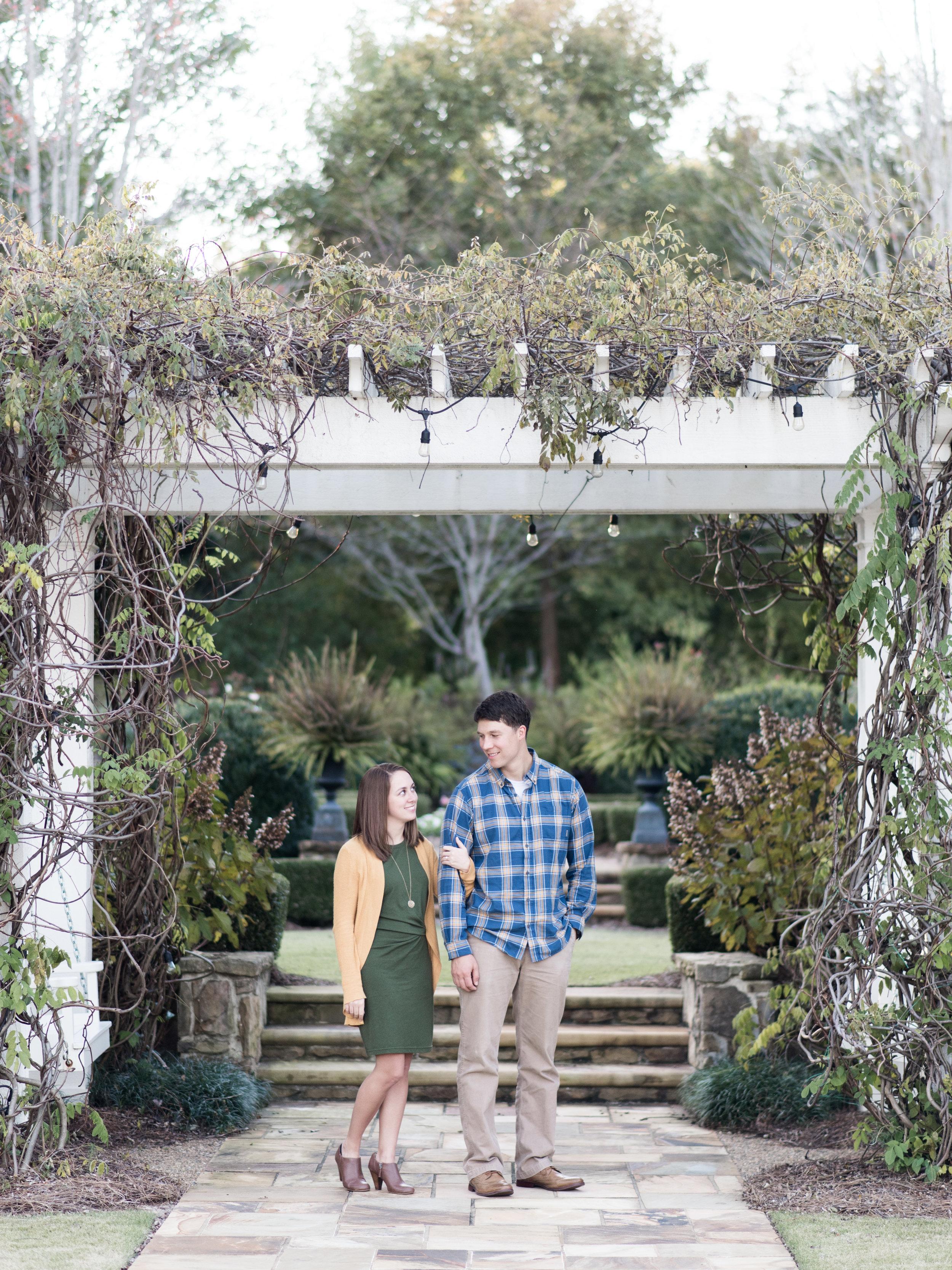 fall engagement photo dresses