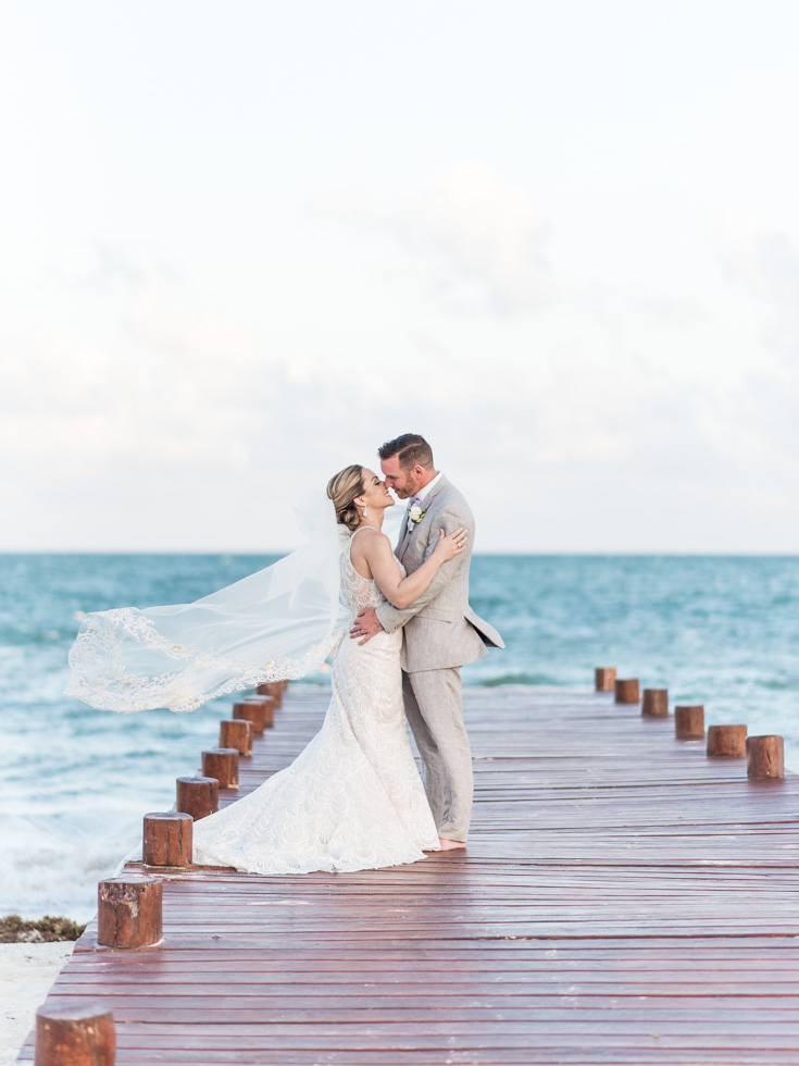Caribbean Ocean Wedding Photos