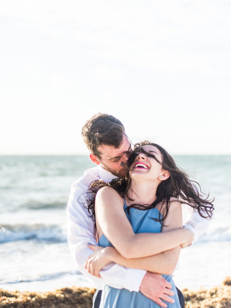 Beach Engagement photoshoot in Mexico