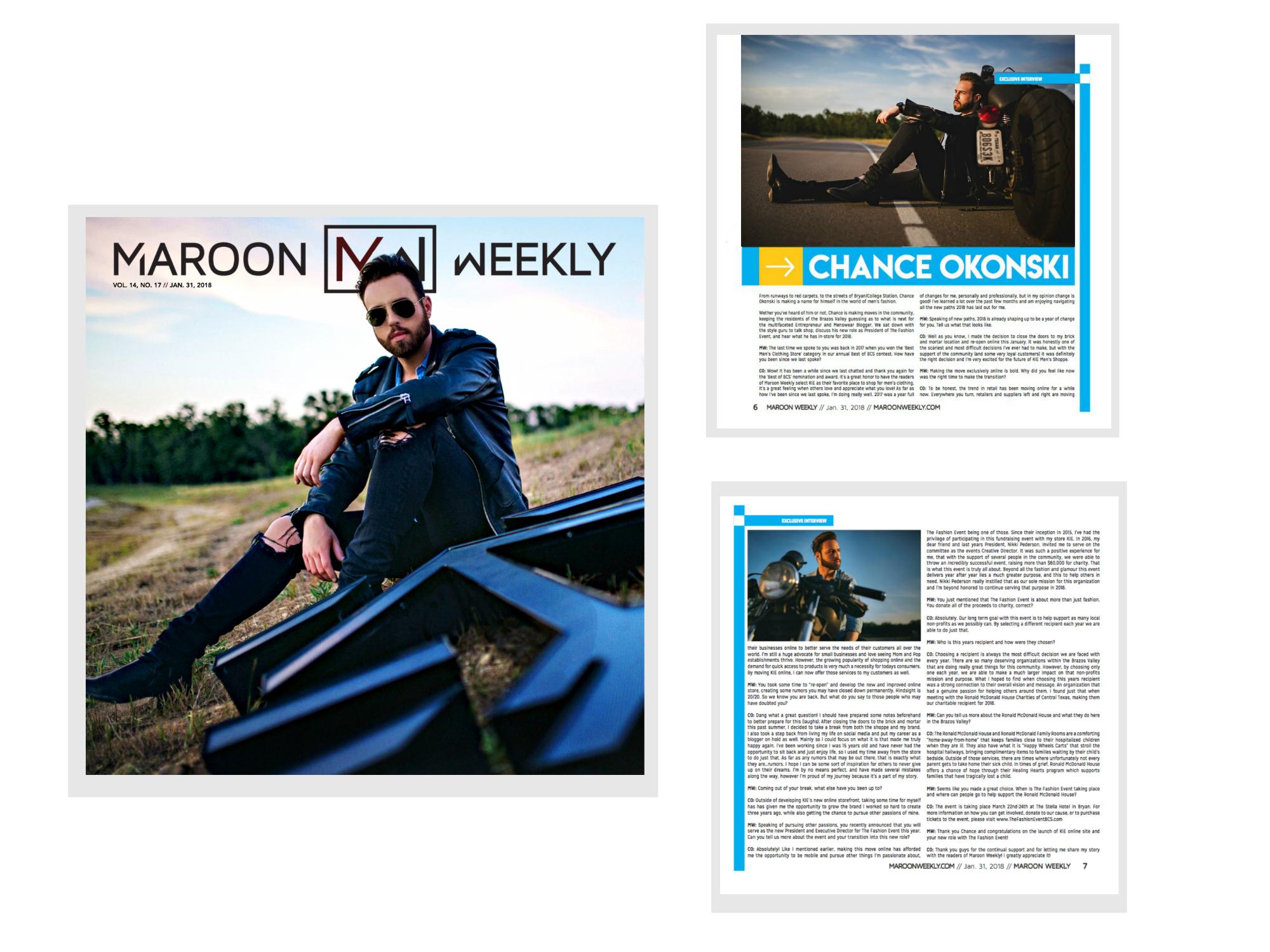 Maroon Weekly