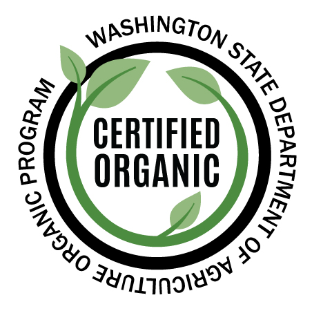 - Our operation is inspected each year to ensure all requirements for organic certification are met.