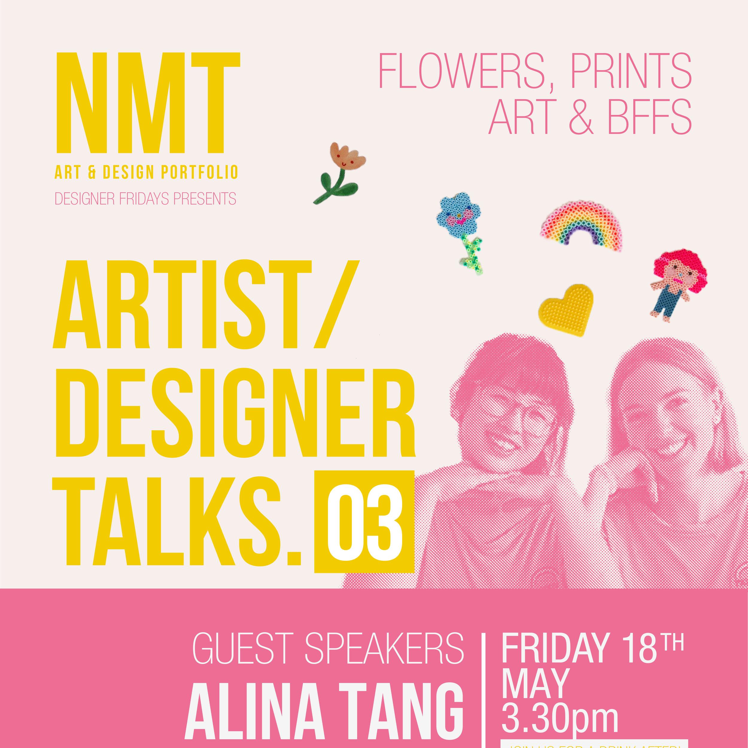 18th May 2018  Johanna Acs and Alina Tang -Designer Talks at TAFE, Northbridge