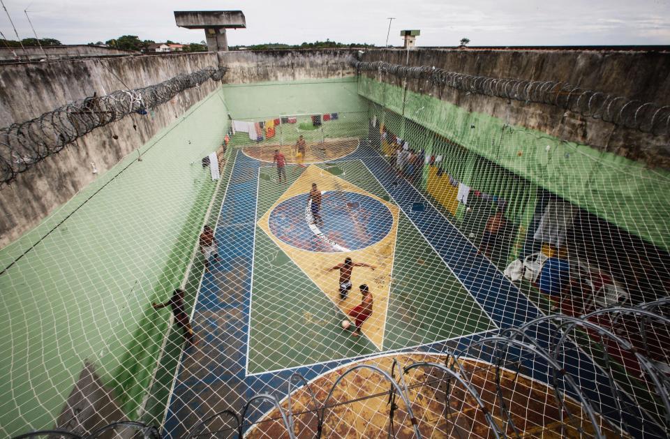 Brazil prison Football Pitch.jpg