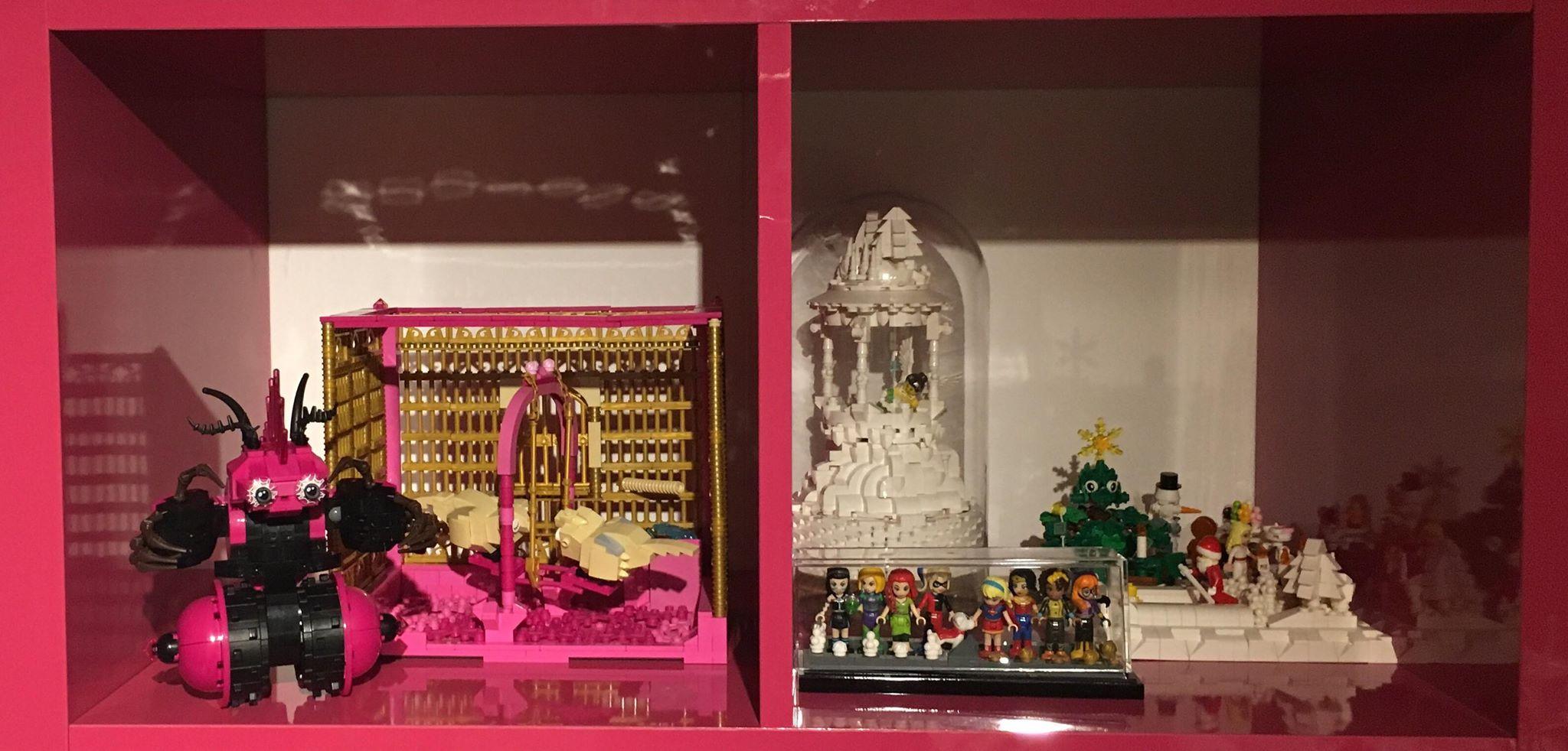 Några av Marias Lego-skapelser!