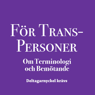 För Transpersoner/Ickebinära