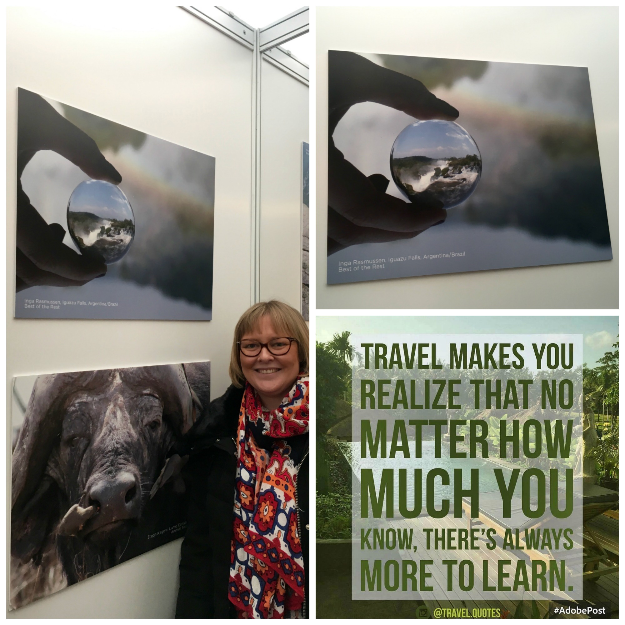 A selection of the pictures taking at the Adventure Travel Show, January 2017