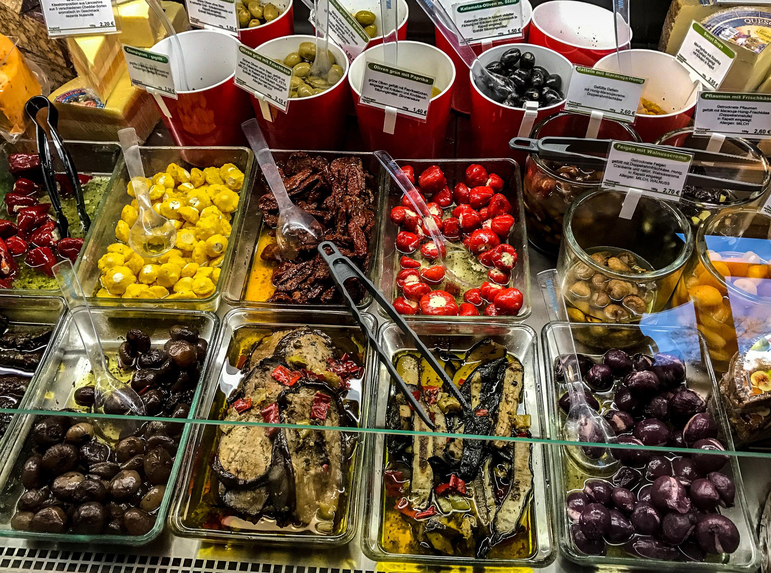 Antipasti, Oliven, und und und...