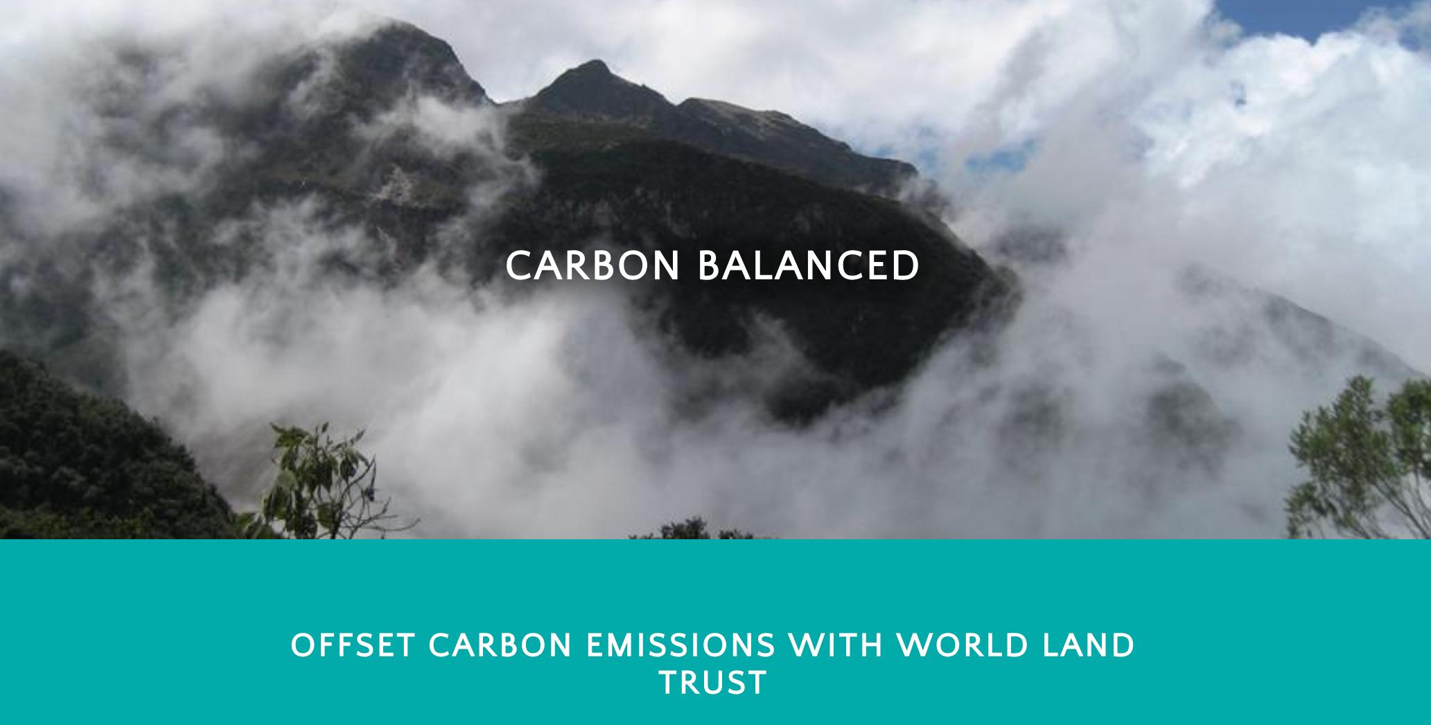 World Land Trust carbon balanced programme