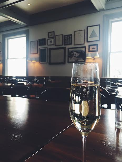 Bubbles at Goodall's Kitchen
