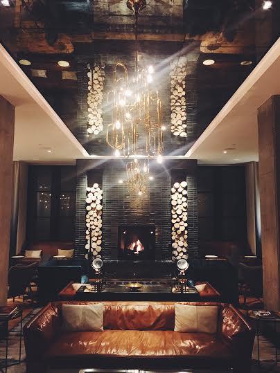 Lobby area at  Hotel Van Zandt