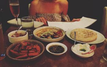 Dining at Shaya