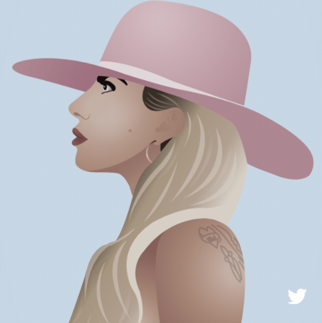 """Lady Gaga Tweet"" from the ""Twitter Social Campaign"" Best of Show Winner"
