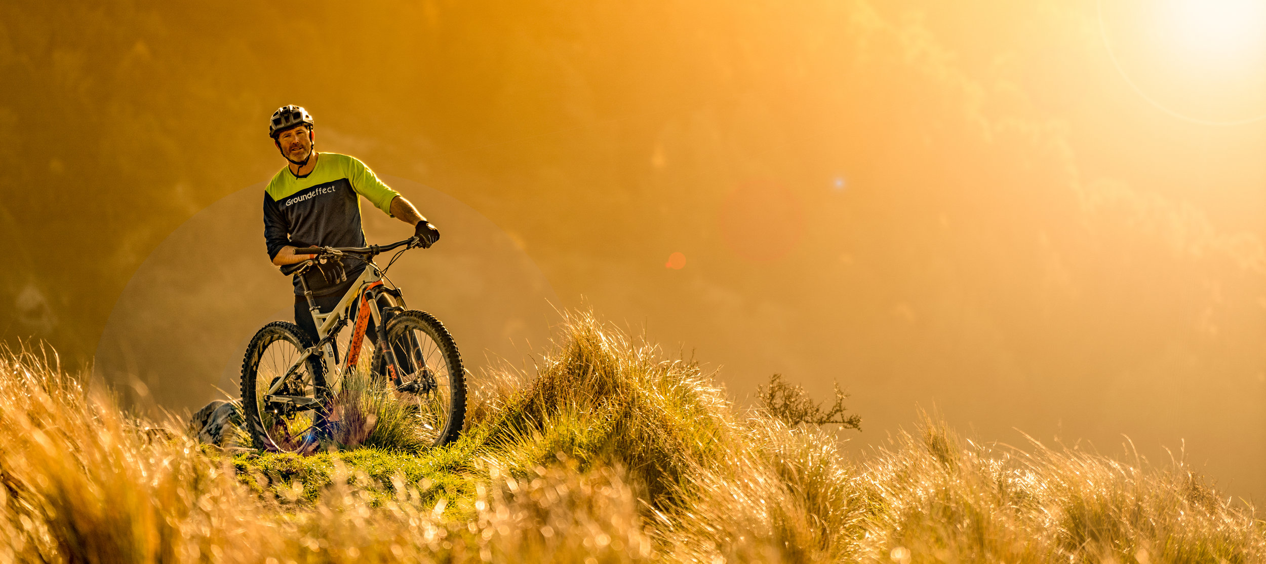 golden light on the Port Hills- pic by @extremekidproductions