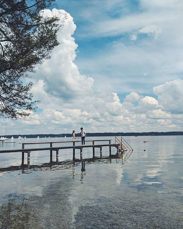 Balancing at the lake