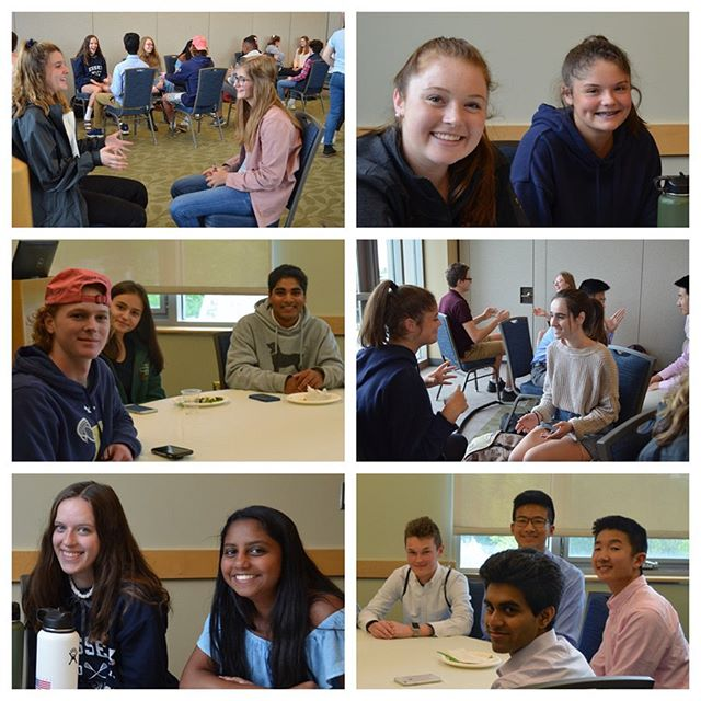 #GLP Sophomores & Juniors participated in a Training and Development Symposium at UVM's Davis Center. They started off with some Improv with the Vermont Comedy Club and then worked with university professors to learn the tricks of the trade in public speaking and the intricacies of cultural competency