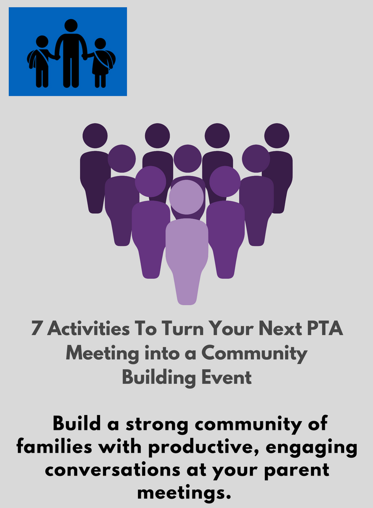 A strong, thoughtful group of parents is often the thing that separates a good school from a great school. Make your PTA a strong, thoughtful one! -