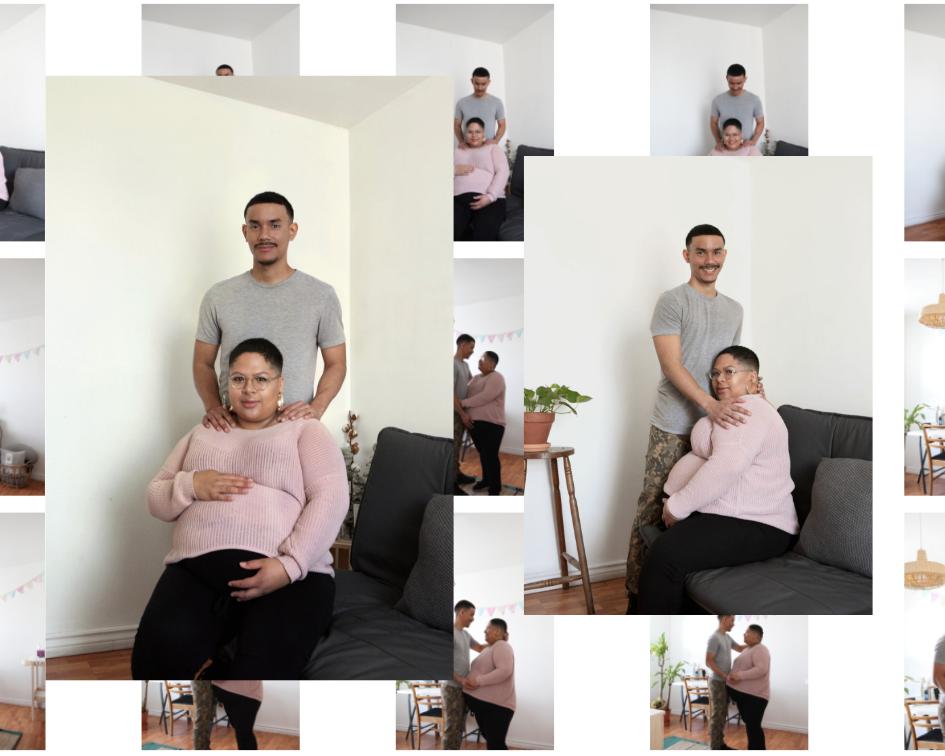 Gabriella et Gaetan - «Être parents, c'est élaborer un plan, s'imaginer un scénario idéal pour finalement être capable de lâcher prise, s'adapter et prendre un virage à 180° pour le bien-être de son enfant»