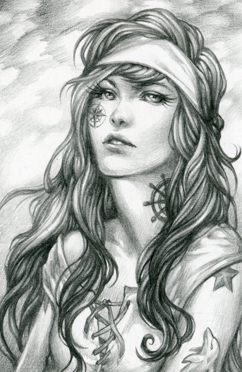 Illustration by Rebecca Barnes - http://bluessence.com/