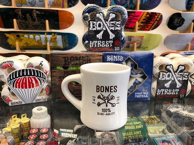 FREE MUG. The next person that buys a set of Bones STF or SPF wheels will get this Bones mug for free. We only have one mug so first come first served. #giveaways #free90free