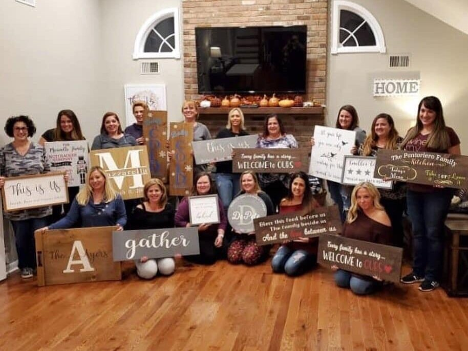 PLAN A PARTY AT YOUR HOME OR BUSINESS!  Hostess sign is free (up to $55) with 10 paid guests.     CLICK HERE TO LEARN MORE ABOUT HOME PARTIES