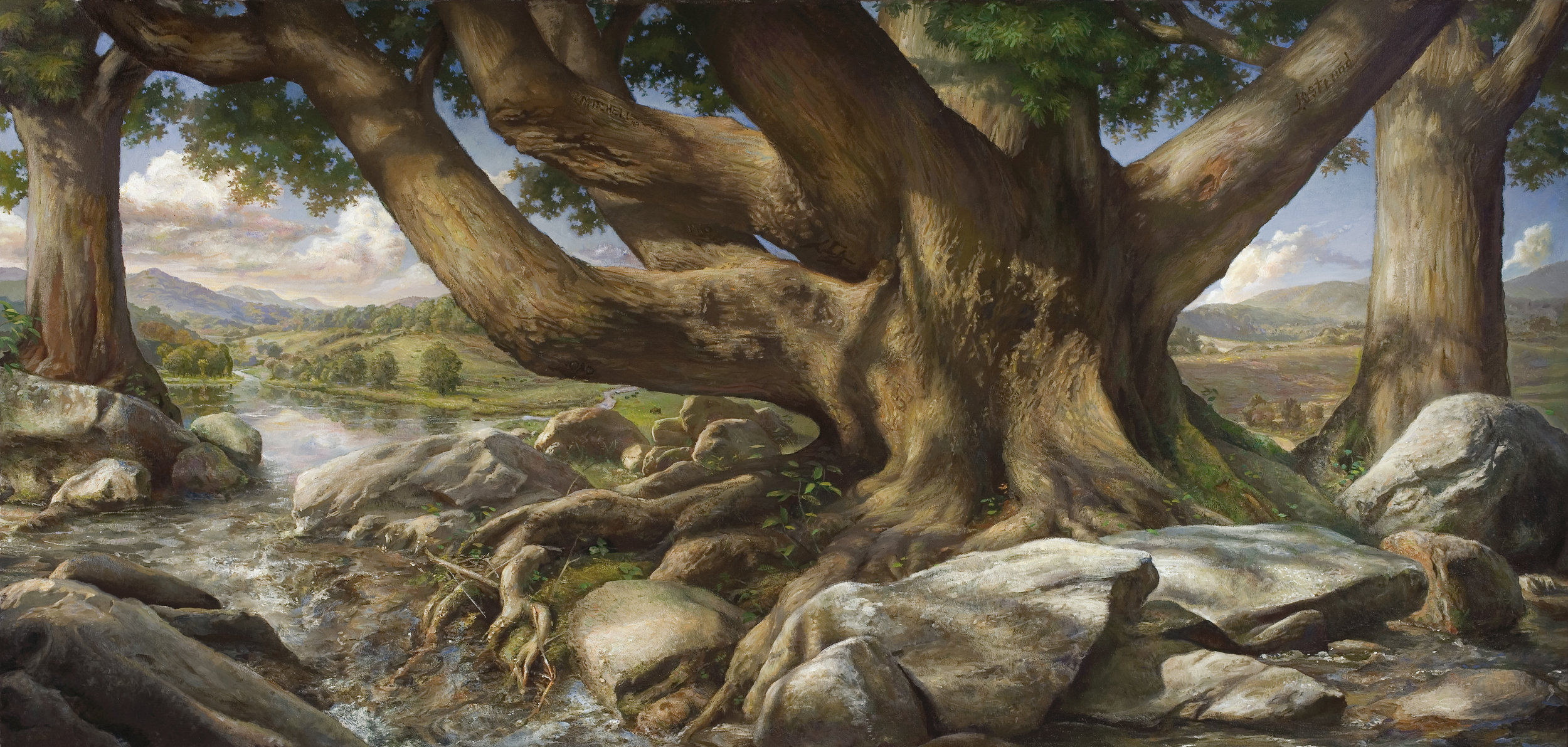 """""""The Chestnut Tree"""" ~ a collaboration by Mitchell and Ostlund"""