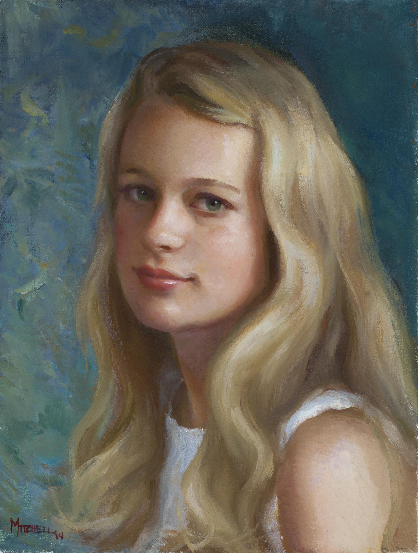 """""""Savannah"""" ~ an oil sketch"""
