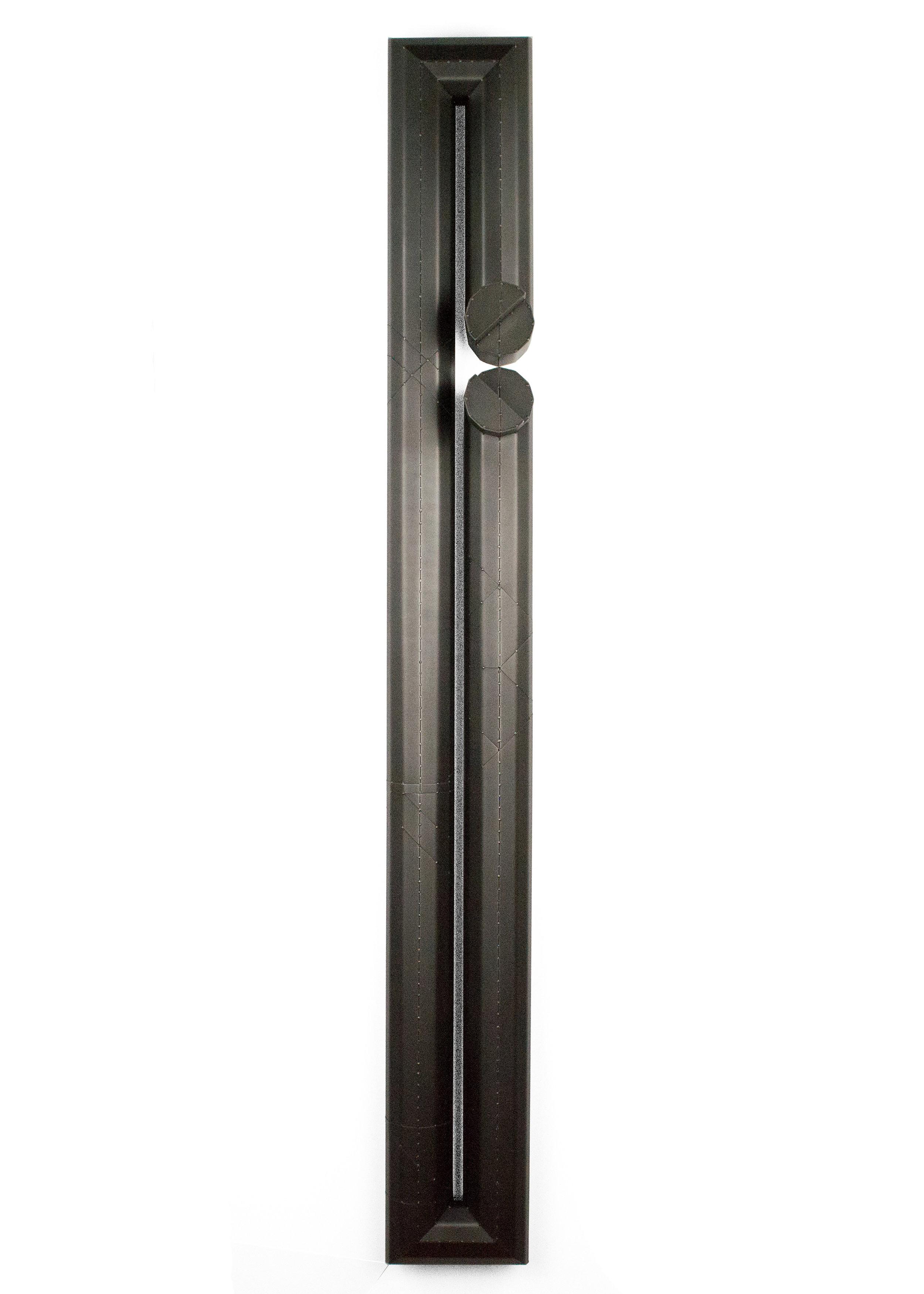 Verge  blackened steel 54.5 x 6.5 x 5 in  2019