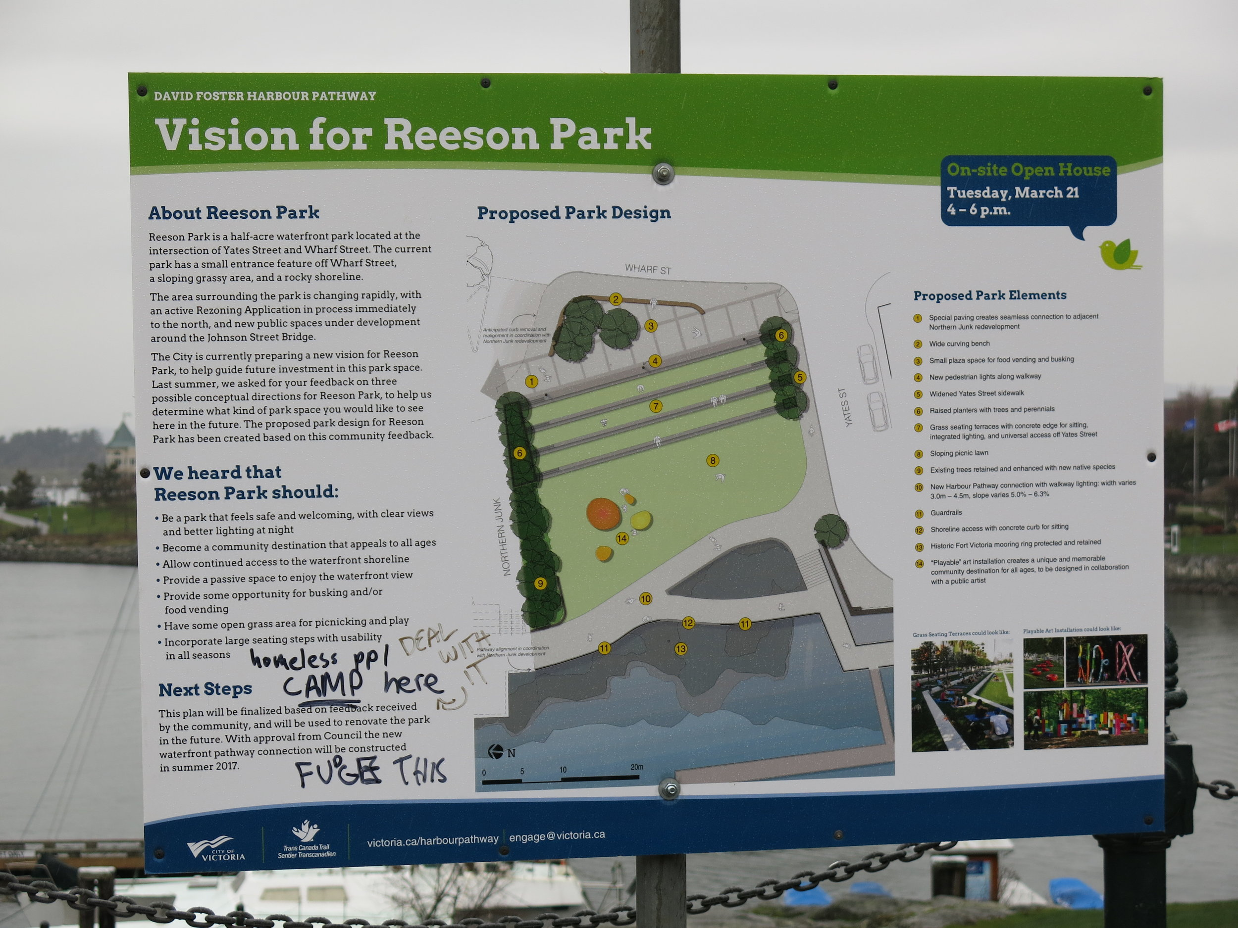 The latest feedback on the Reeson Park plan, Pt. 2