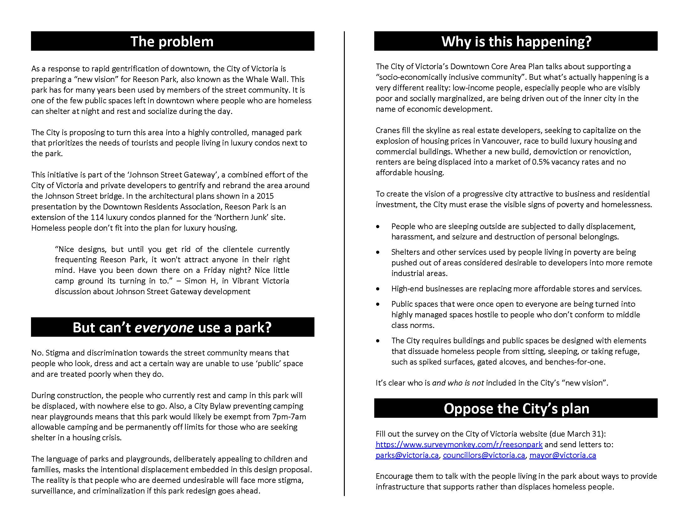 Reeson Park Flyer - Page 2