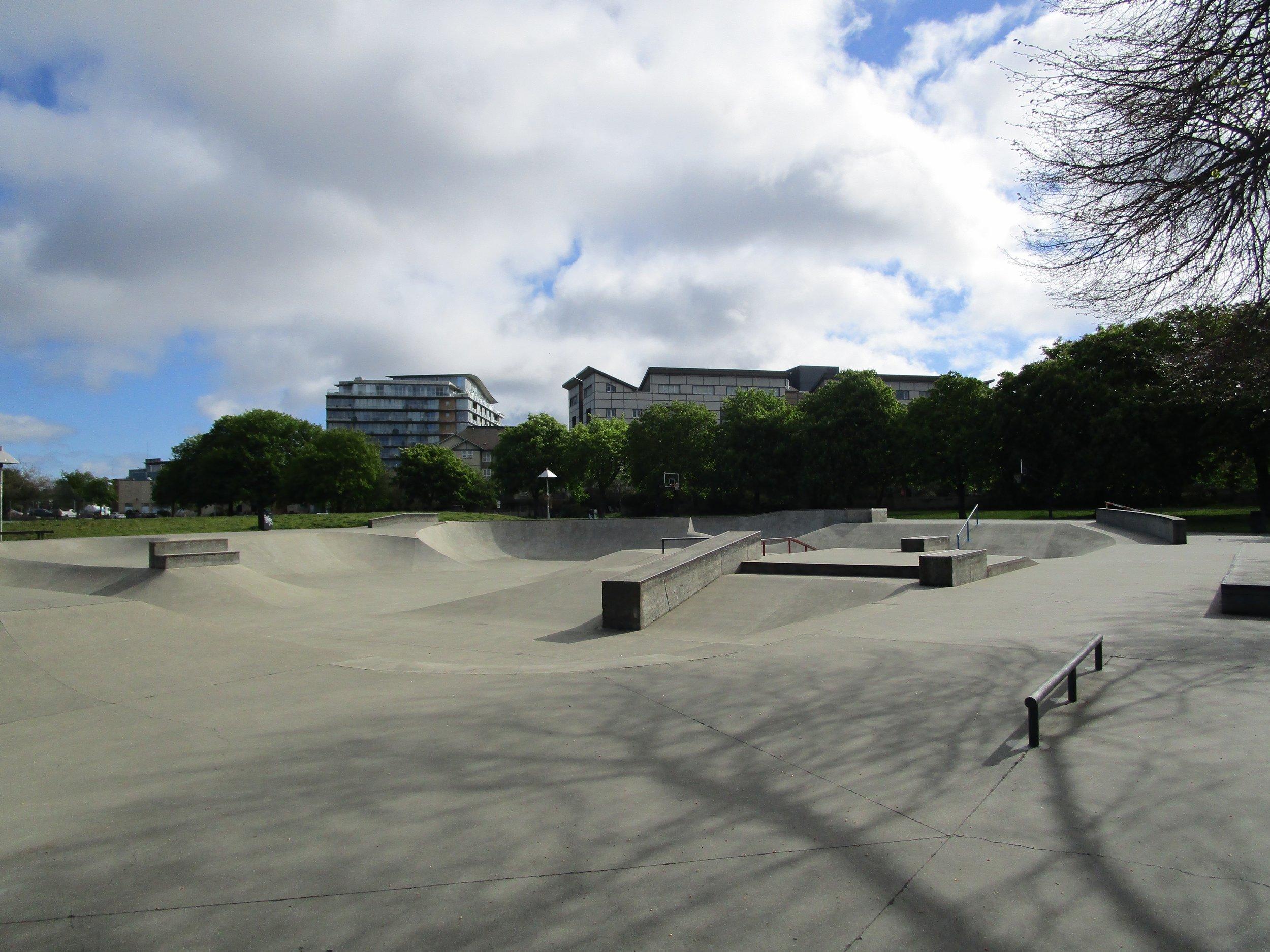 Vic West Skatepark.