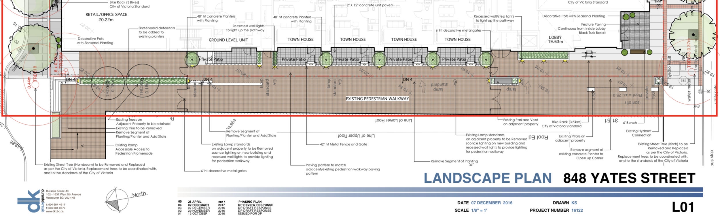 Plans for a wider, fenced-off walkway. Image source:  City of Victoria  (large file size).
